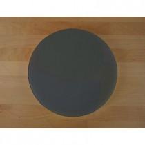 Rundes Schneidebrett aus Polyethylen durchmeßer 30 cm Schiefer-Effekt schwarz  - Stärke 10 mm