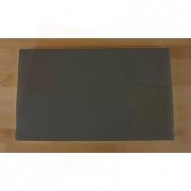 Rechteckiges Schneidebrett aus Polyethylen 30X50 cm Schiefer-Effekt schwarz  - Stärke 20 mm