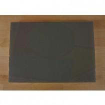 Rechteckiges Schneidebrett aus Polyethylen 50X70 cm Schiefer-Effekt schwarz  - Stärke 10 mm