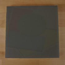 Quadratishes Schneidebrett aus Polyethylen 40X40 cm Schiefer-Effekt schwarz  - Stärke 10 mm