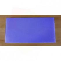 Rechteckiges Schneidebrett aus Polyethylen 40X80 cm blau  - Stärke 10 mm