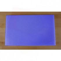 Rechteckiges Schneidebrett aus Polyethylen 50X80 cm blau  - Stärke 10 mm