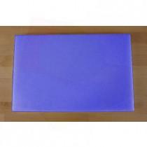 Rechteckiges Schneidebrett aus Polyethylen 40X60 cm blau  - Stärke 10 mm