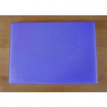 Rechteckiges Schneidebrett aus Polyethylen 50X70 cm blau  - Stärke 10 mm