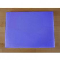 Rechteckiges Schneidebrett aus Polyethylen 30X40 cm blau  - Stärke 10 mm
