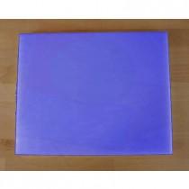 Rechteckiges Schneidebrett aus Polyethylen 40X50 cm blau  - Stärke 15 mm