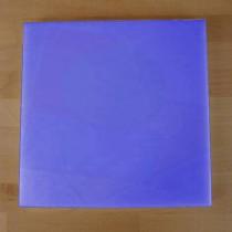 Quadratishes Schneidebrett aus Polyethylen 60X60 cm blau  - Stärke 10 mm