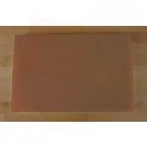 Rechteckiges Schneidebrett aus Polyethylen 40X60 cm braun  - Stärke 10 mm