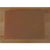 Rechteckiges Schneidebrett aus Polyethylen 50X70 cm braun  - Stärke 10 mm