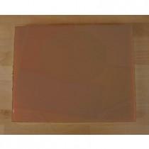 Rechteckiges Schneidebrett aus Polyethylen 40X50 cm braun  - Stärke 15 mm