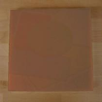 Quadratishes Schneidebrett aus Polyethylen 40X40 cm braun  - Stärke 10 mm