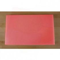 Rechteckiges Schneidebrett aus Polyethylen 50X80 cm rot  - Stärke 10 mm