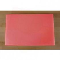 Rechteckiges Schneidebrett aus Polyethylen 40X60 cm rot  - Stärke 10 mm