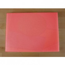 Rechteckiges Schneidebrett aus Polyethylen 30X40 cm rot  - Stärke 25 mm