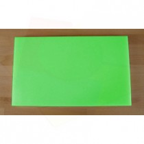 Rechteckiges Schneidebrett aus Polyethylen 30X50 cm grün  - Stärke 20 mm