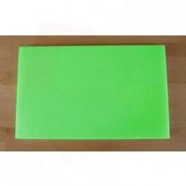 Rechteckiges Schneidebrett aus Polyethylen 50X80 cm grün  - Stärke 10 mm