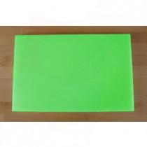 Rechteckiges Schneidebrett aus Polyethylen 40X60 cm grün  - Stärke 10 mm