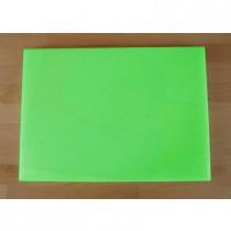 Rechteckiges Schneidebrett aus Polyethylen 50X70 cm grün  - Stärke 10 mm